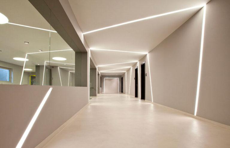 Освітлення в інтер'єрі і LED профілі