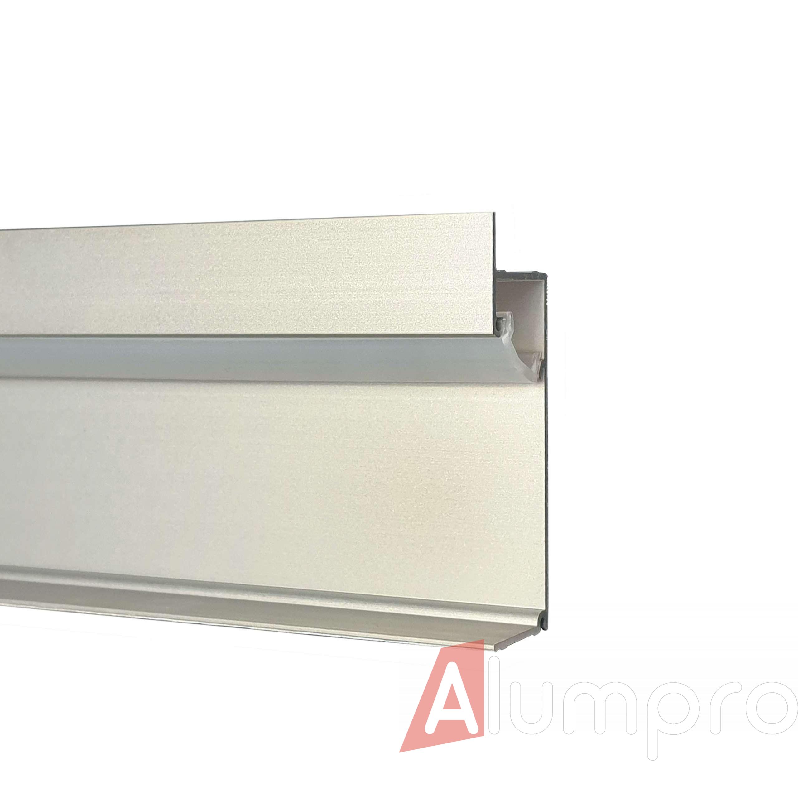 Плинтус алюминиевый с LED-подсветкой