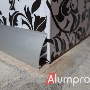 Плінтус алюмінієвий для стільниць 35 мм