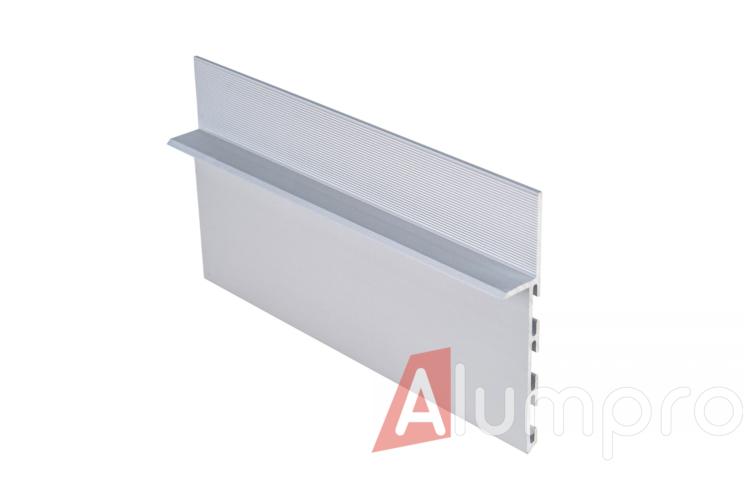 Скрытый плинтус 80 мм (без покрытия)