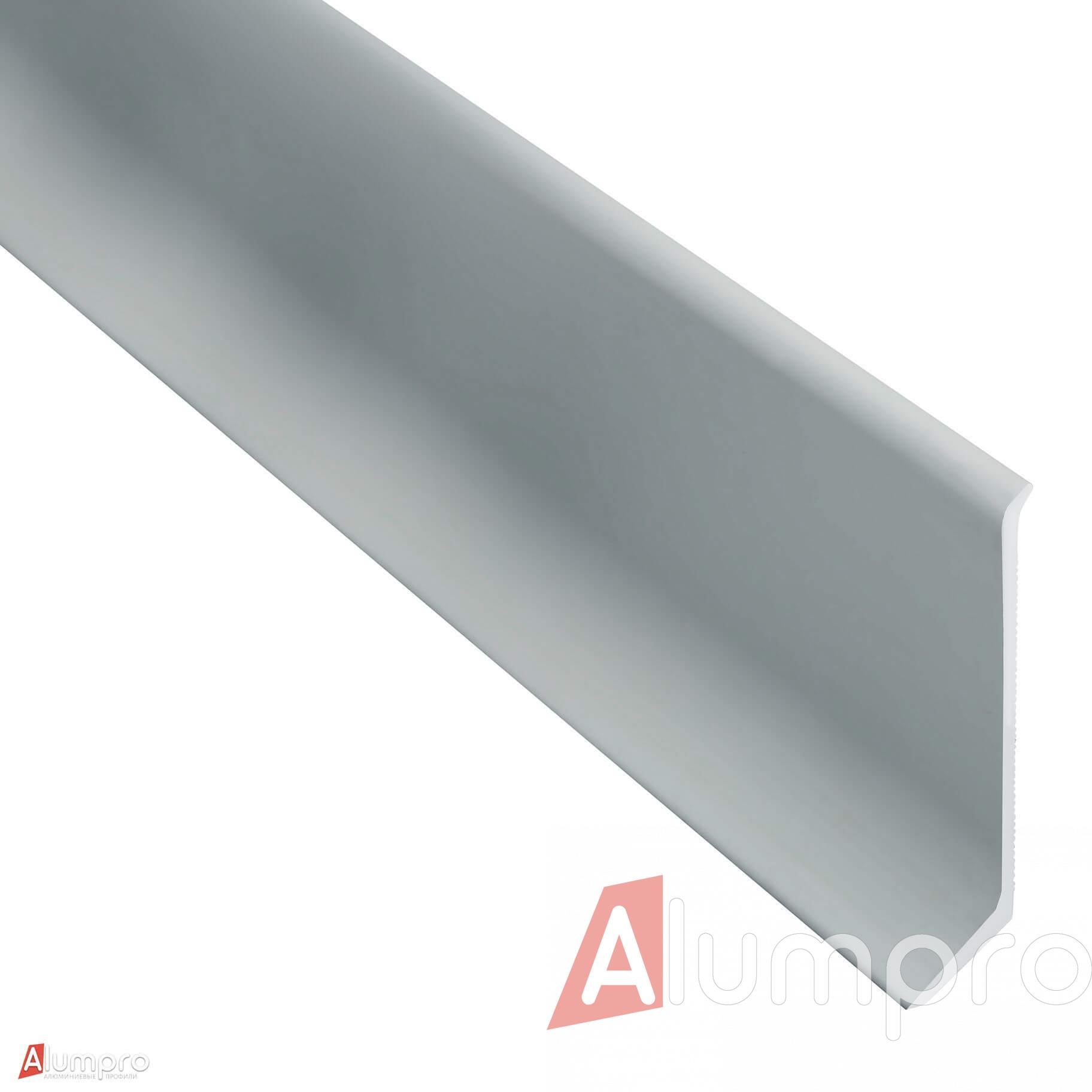 Плинтус алюминиевый накладной