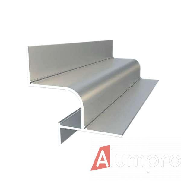 Алюминиевый профиль теневого шва 201