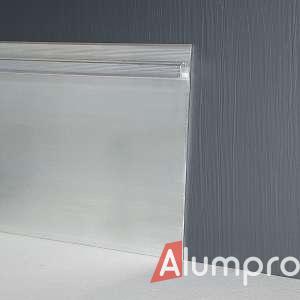 Алюмінієвий плінтус з LED-підсвіткою P114LED