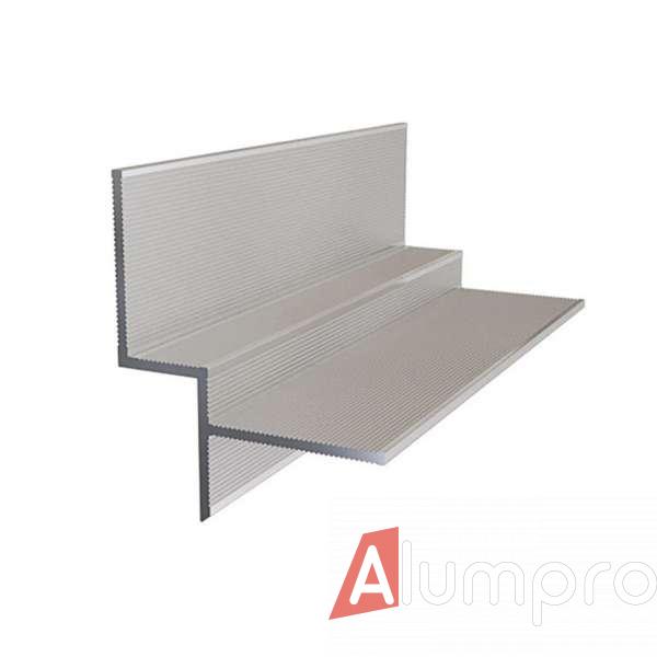 Алюминиевый профиль теневого шва 10 мм
