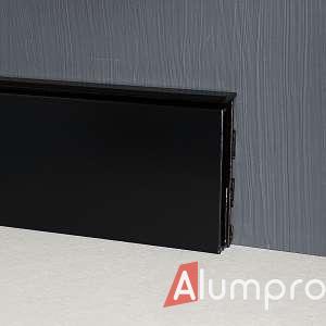 Алюмінієвий плінтус з LED-підсвіткою P105LED DEC
