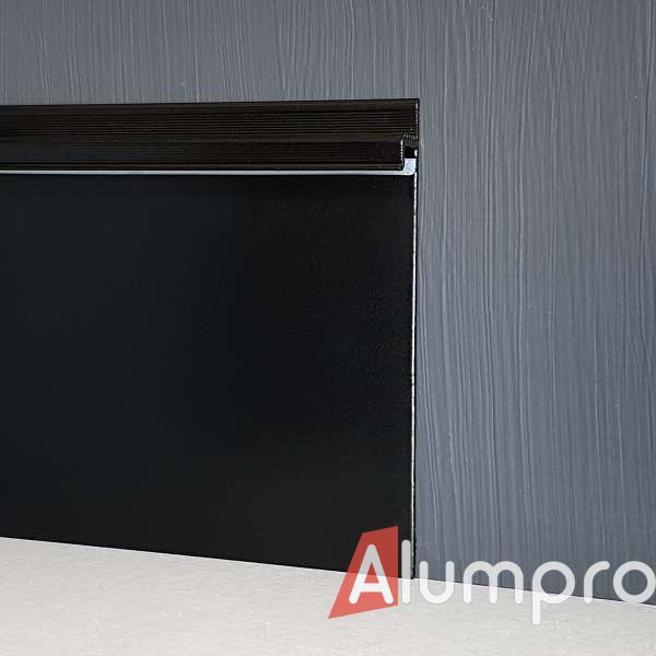 Алюмінієвий плінтус з LED-підсвіткою P114LED DEC