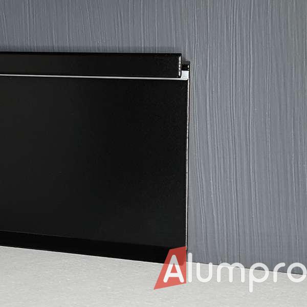 Алюминиевый плинтус с LED-подсветкой P115LED DEC